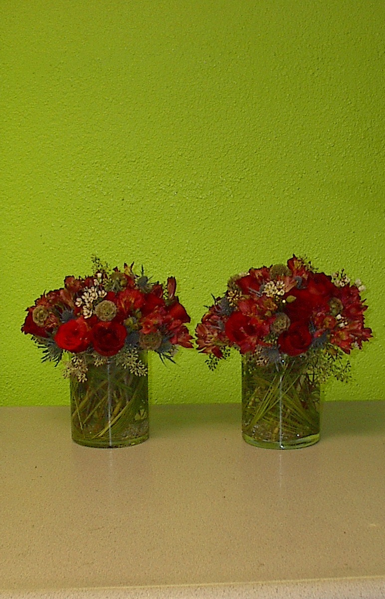 Fall flowers in Las Vegas, Seasonal flower centerpieces
