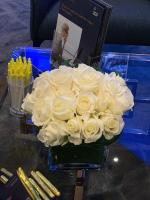Tradeshow booth flowers in Las Vegas