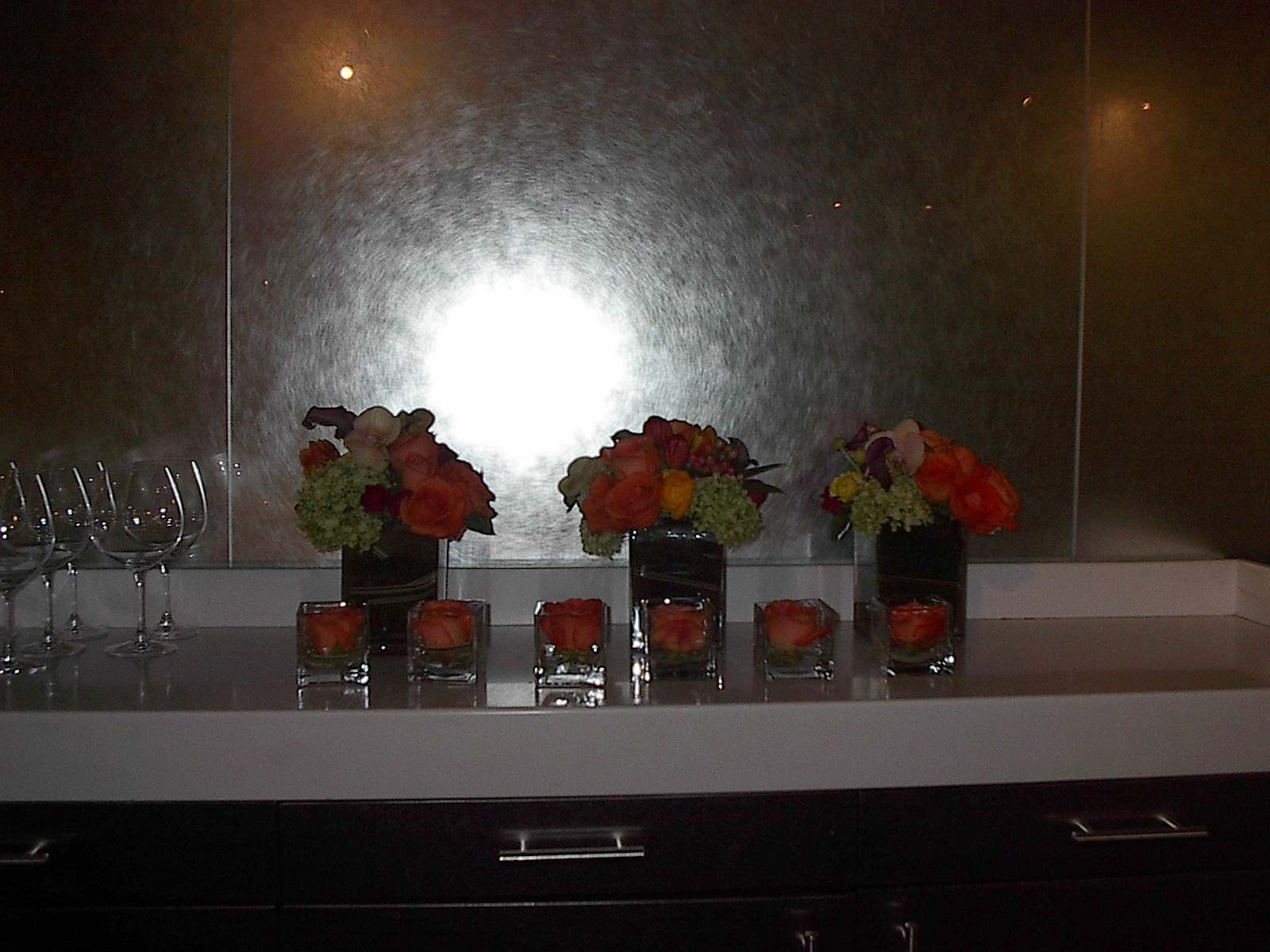 Flower centerpieces, Event flowers Las Vegas